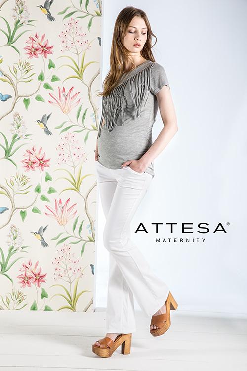 attesa maternity maglietta premaman
