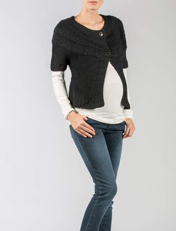 Short Maternity Cardigan