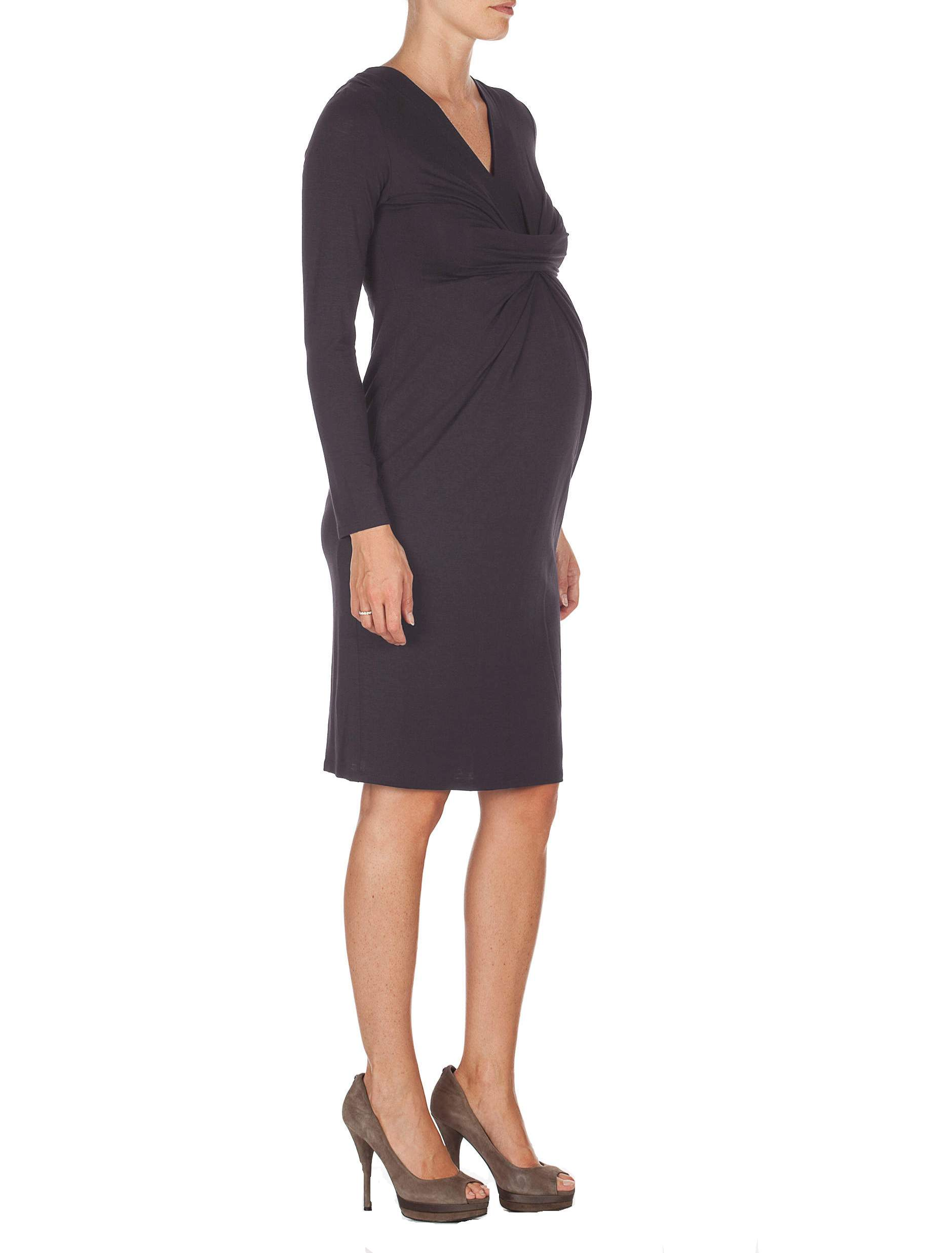 Maternity Dress with Twist Detailing
