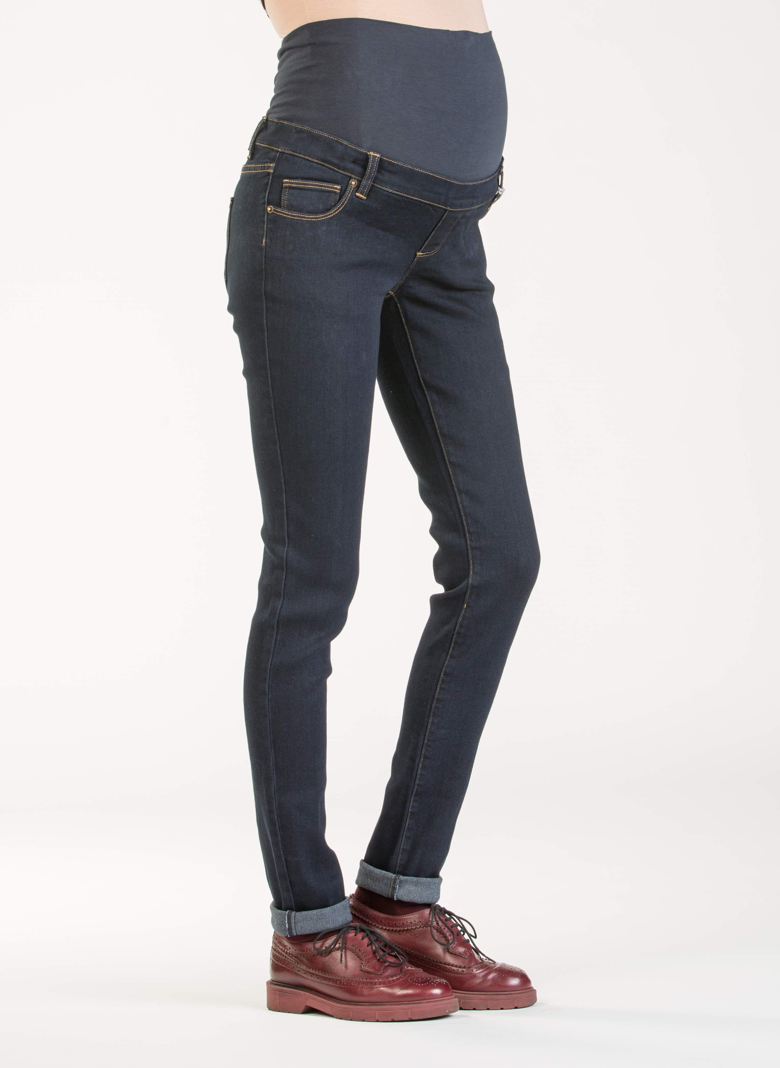 wholesale dealer 32a88 8d5a7 Jeans Premaman Super Stretch in Viscosa Lavaggio Scuro ...