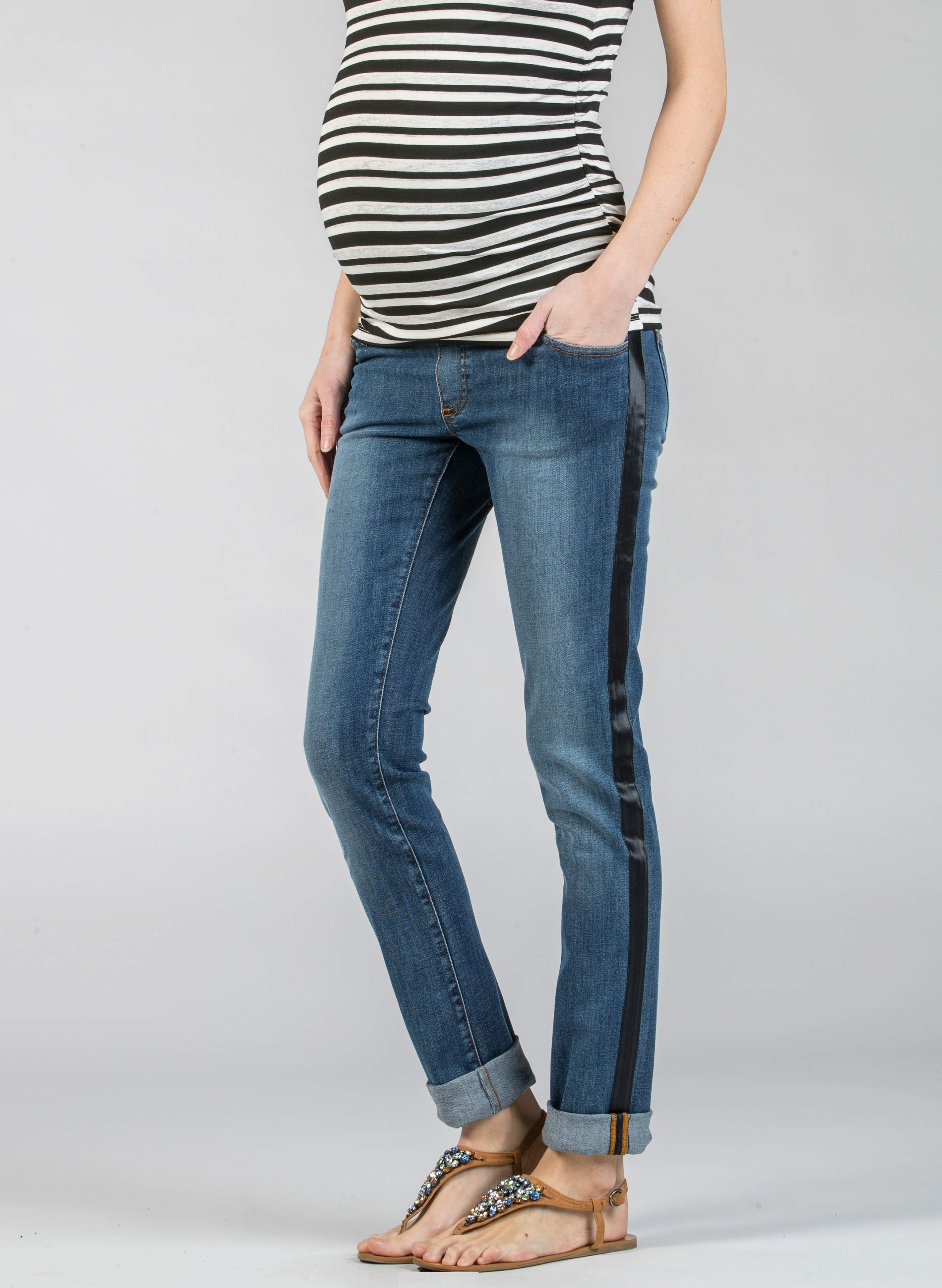 Maternity Sideband Jeans