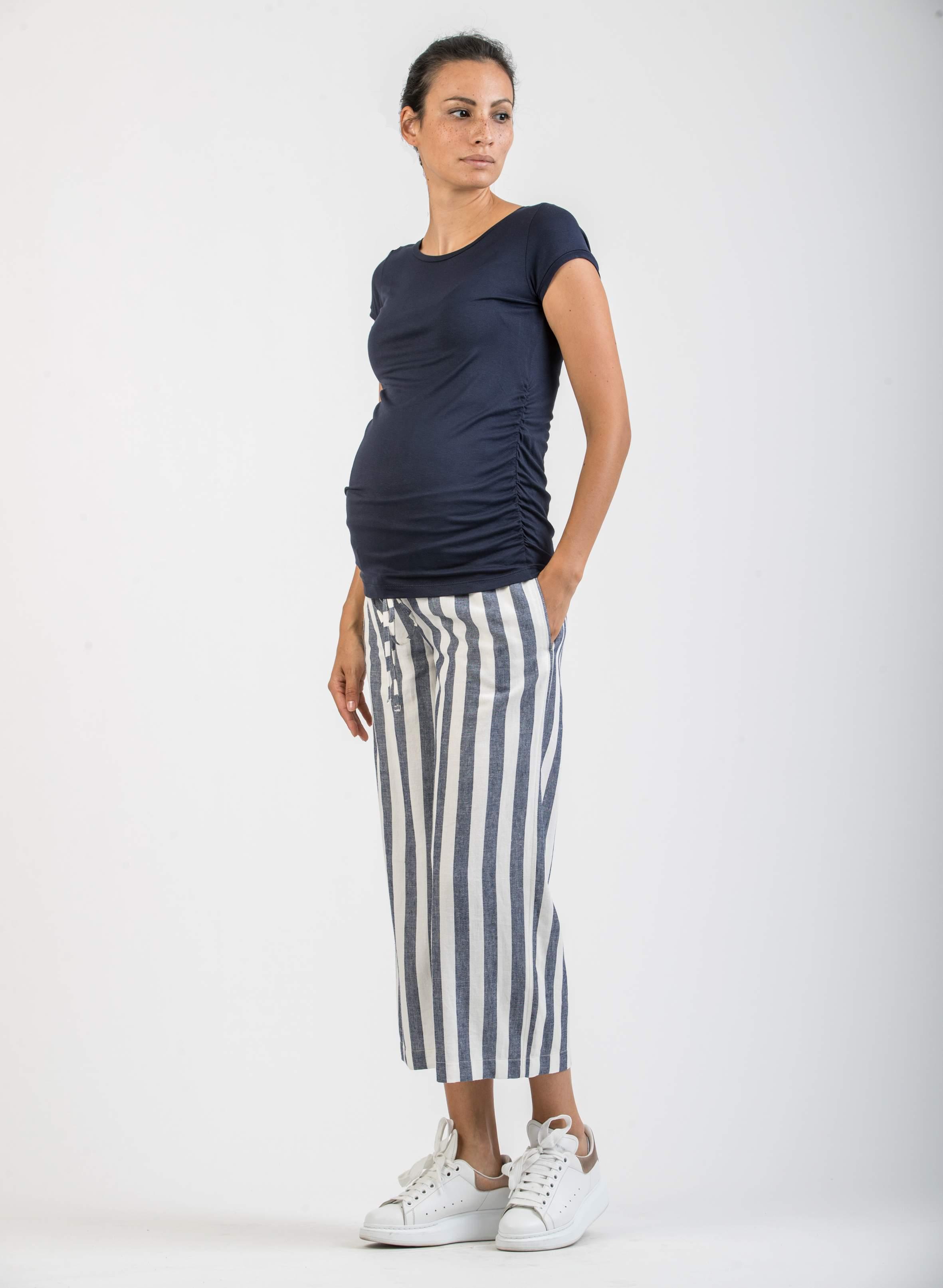 costo moderato migliore Acquista autentico Sale - Maternity Striped Culotte | Attesa Maternity
