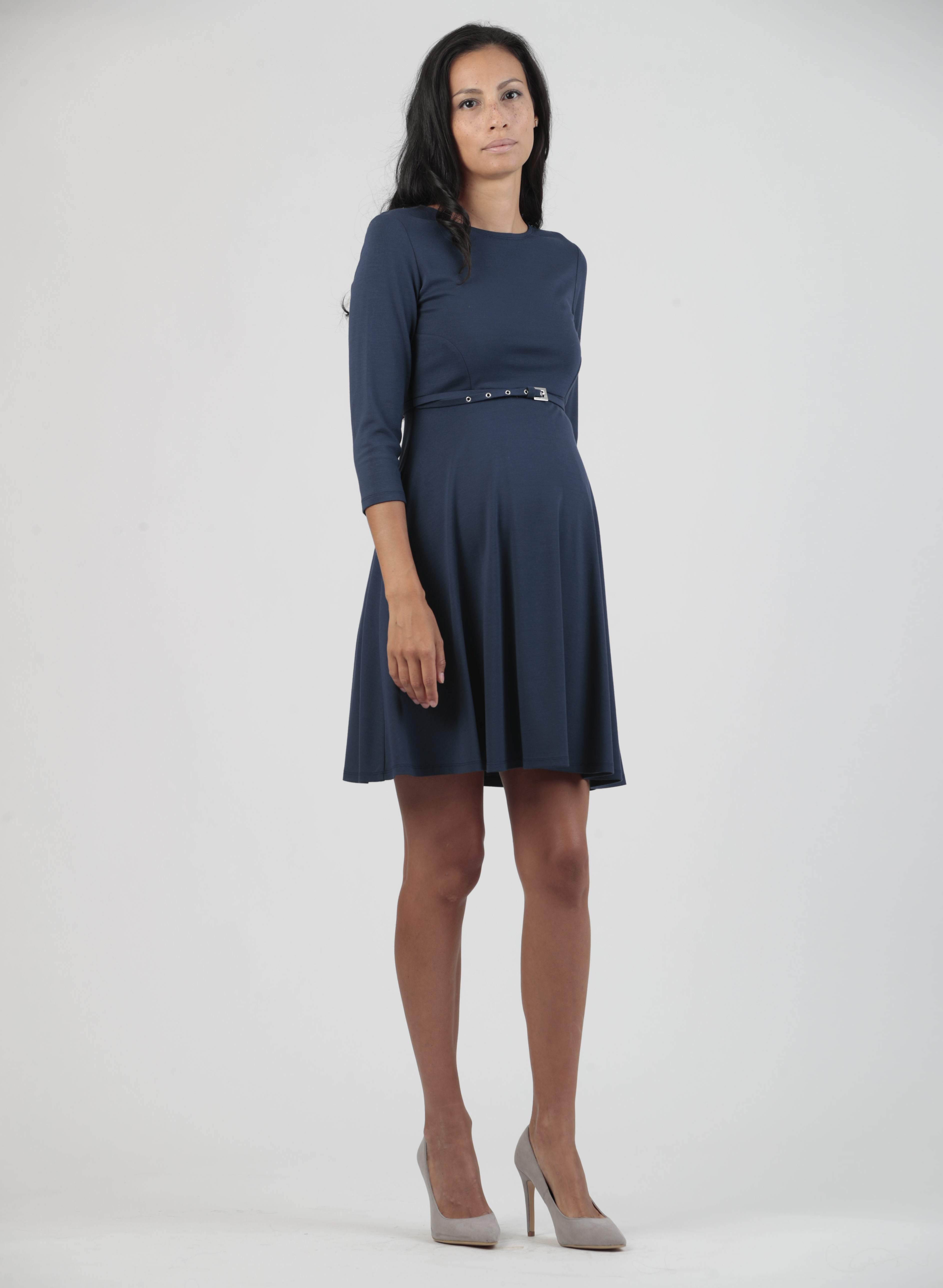 A line maternity dress with belt abbigliamento premaman a line maternity dress with belt ombrellifo Image collections