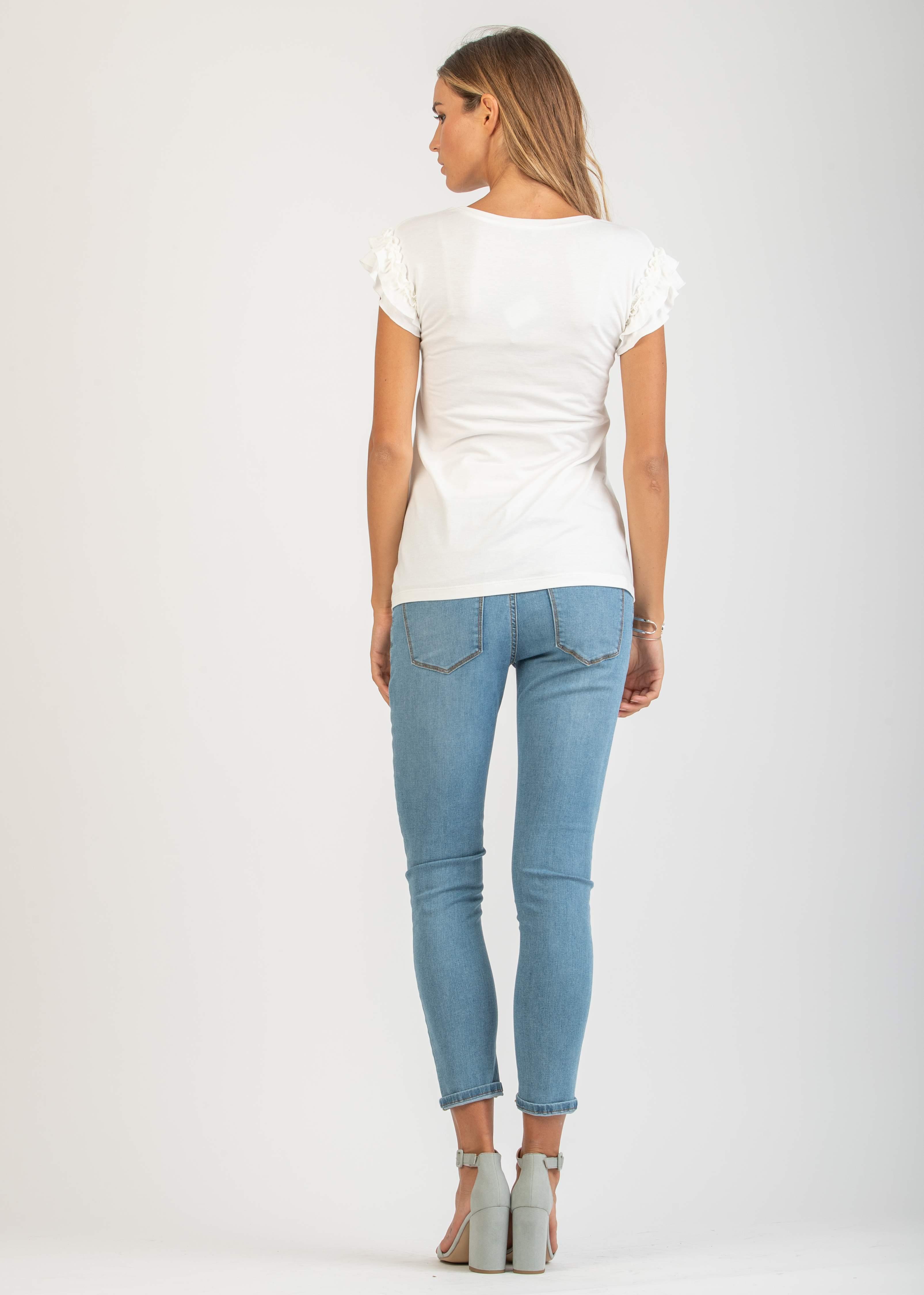 Jeans Premaman Modello Boyfriend - abbigliamento premaman