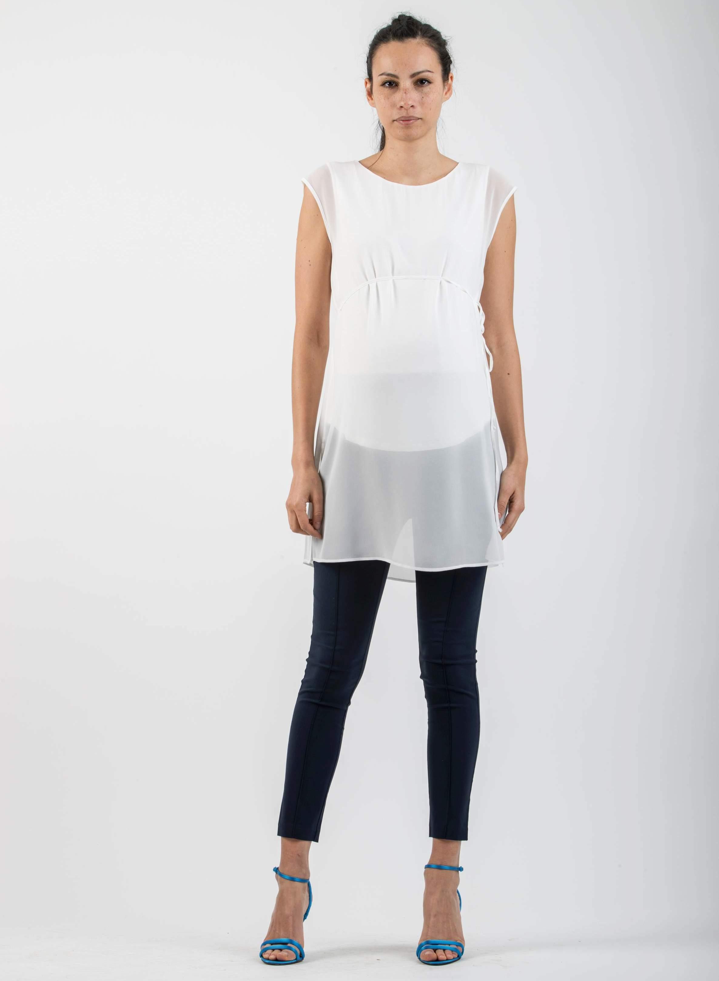 fe2fe9233d8b Home · Shop Online · Abbigliamento · Pantaloni · Leggings Premaman in  Bengalina Super-Stretch