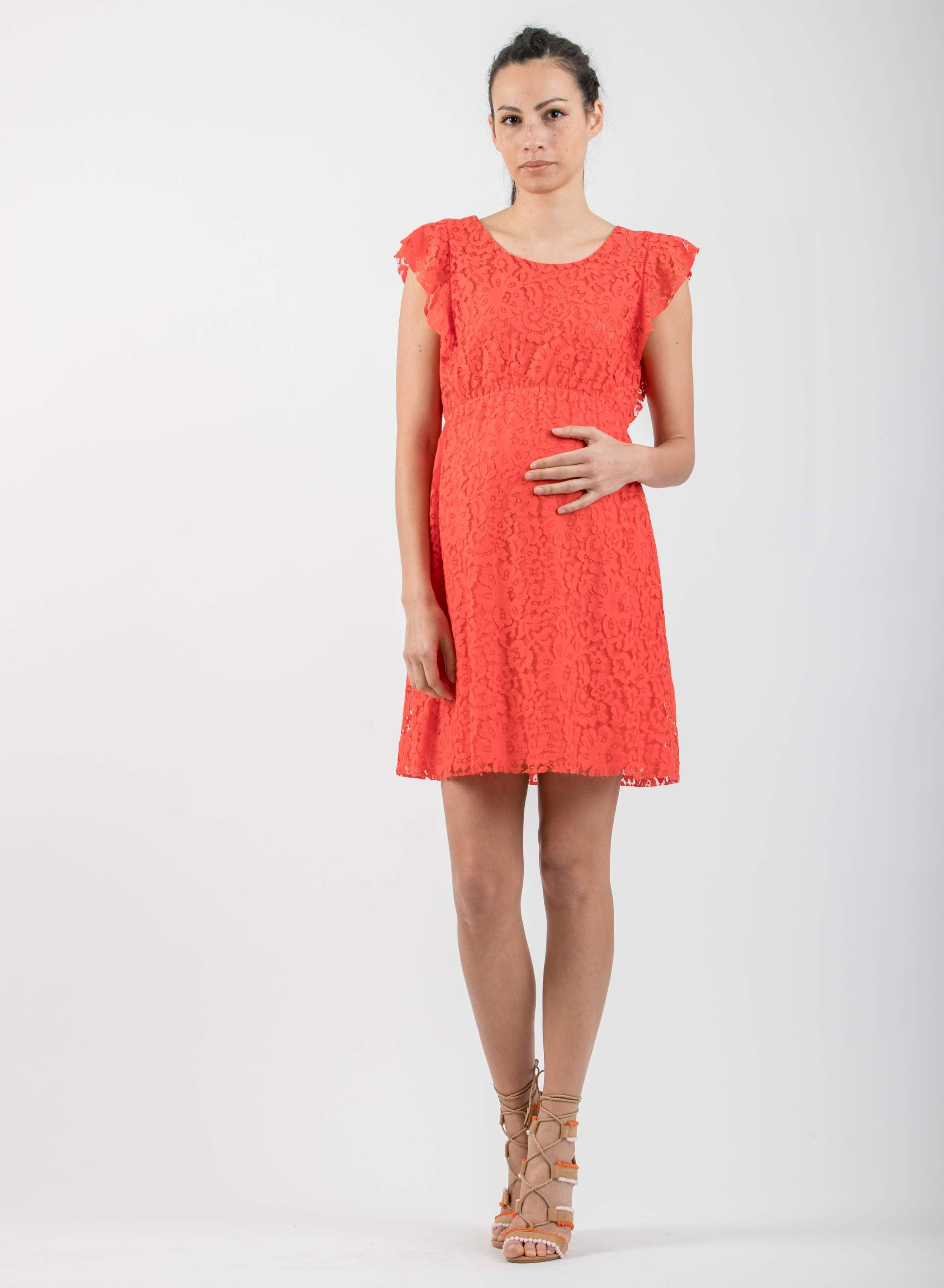 aa48bfaf733 Sale - Lace Maternity Dress