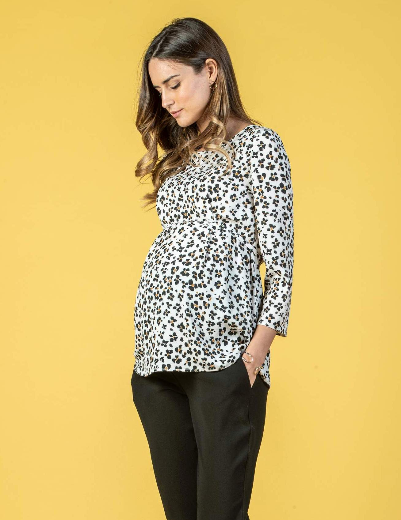 Maternity Blouse with Front String