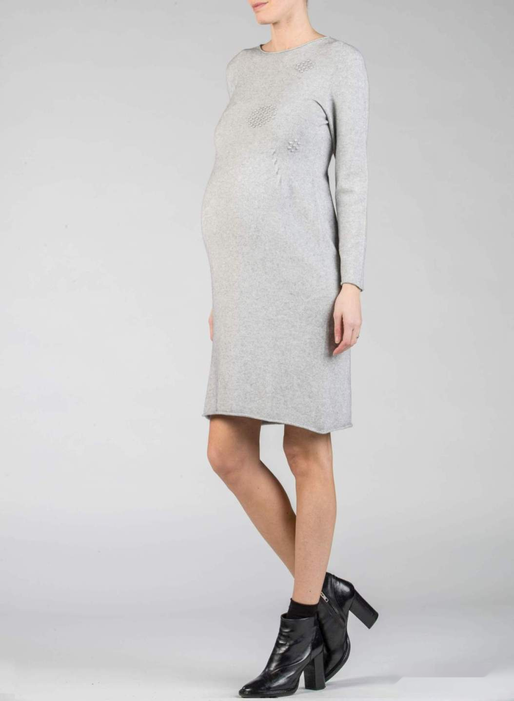 Maternity Dress with Pompons