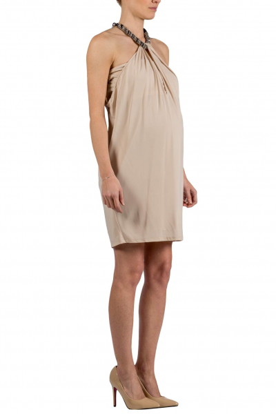 Maternity Dress with Necklace