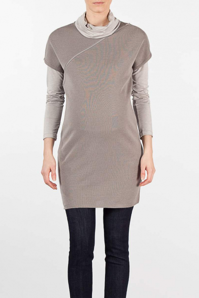 Maternity Tunic with Zipper
