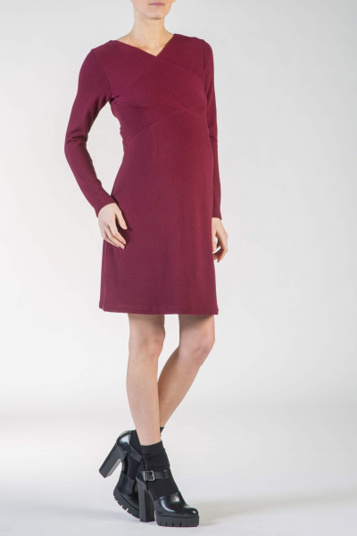 Angora-wool Maternity Dress
