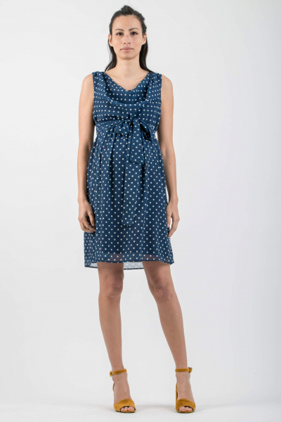 Polka Dot Maternity Dress