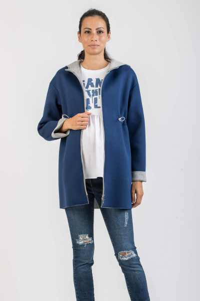 Scuba Maternity Parka with Hood