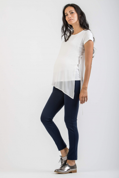 Maternity Top with Tied Side