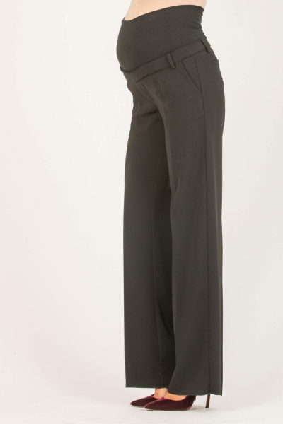 Wide Leg Maternity Trousers