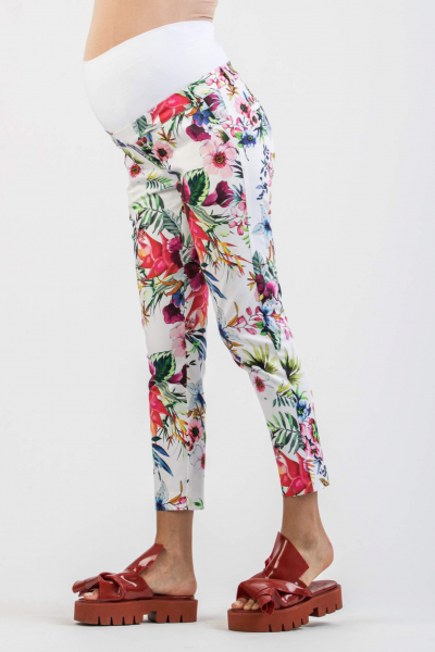 Skinny Tailored Maternity Trousers