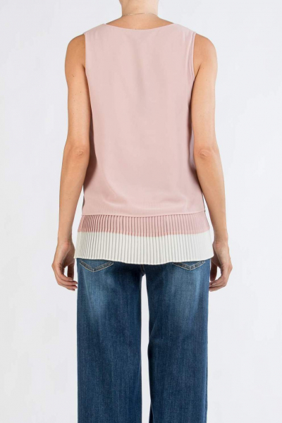 Pleated Maternity A-Line Top