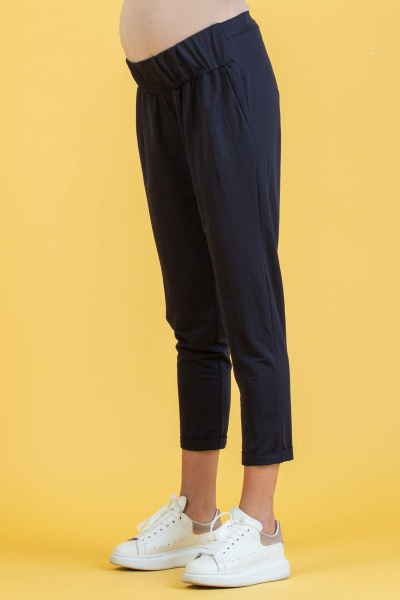 Maternity Jogger Trousers in Piqué
