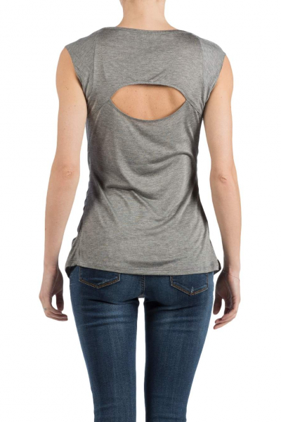 Maternity T-shirt with Cut-Out