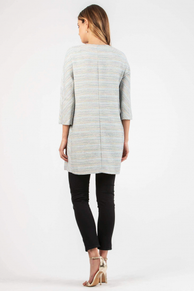 Bouclè Maternity Coat