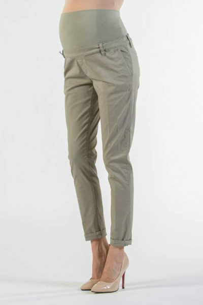 Chino Maternity Trousers in Light-weight Cotton
