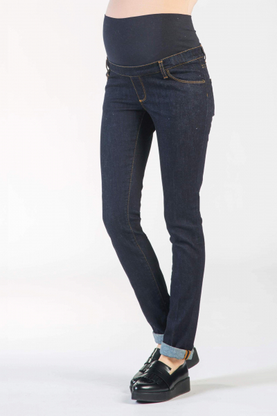 Dark Wash Skinny Fit Maternity Jeans
