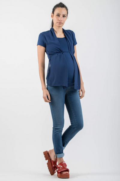 Skinny Fit Maternity Jeans in Tencel