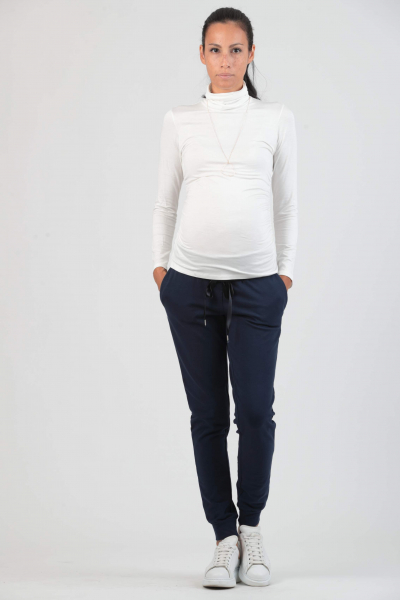 Roll Neck Maternity Top