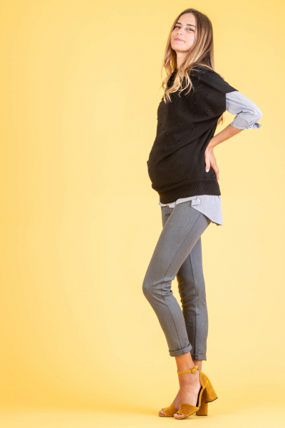 Maternity Trousers in Super Stretchy Fabric