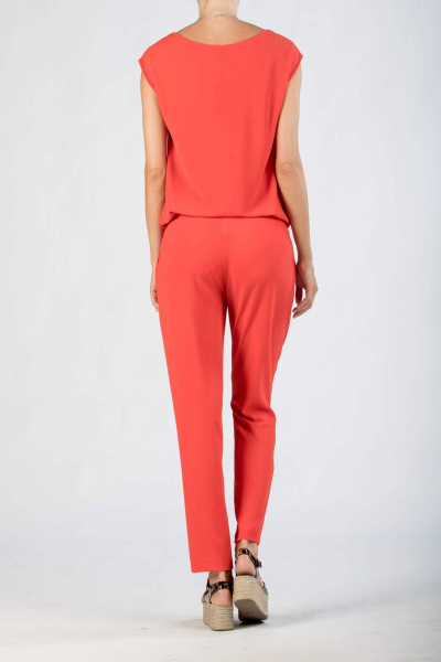 Maternity Jumpsuit with Zipper Detail