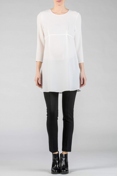 Maternity Tunic with Back-Tie
