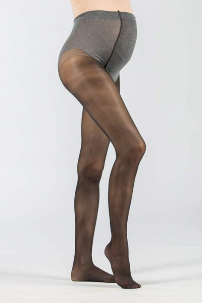 60 Den Over-Bump Maternity Tights