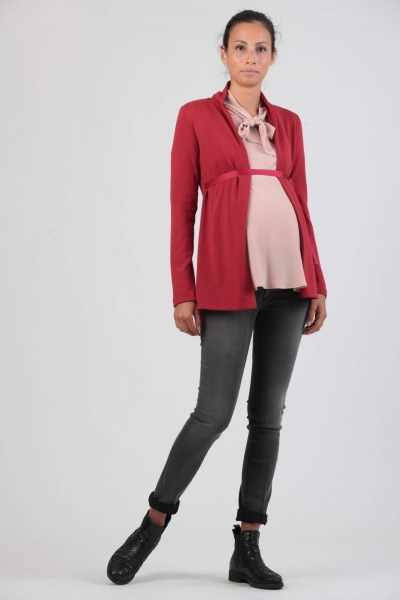 Maternity Cardigan with Sash