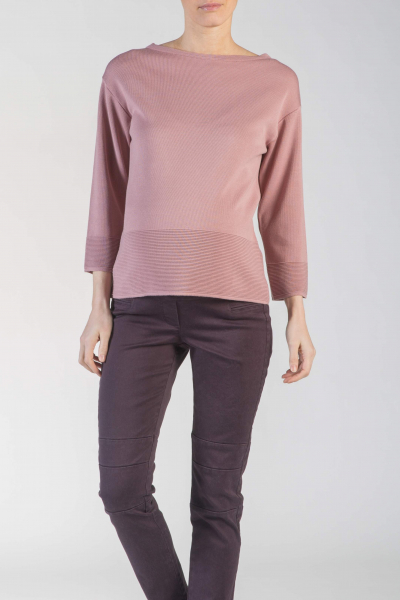 Textured Knit Maternity Jumper