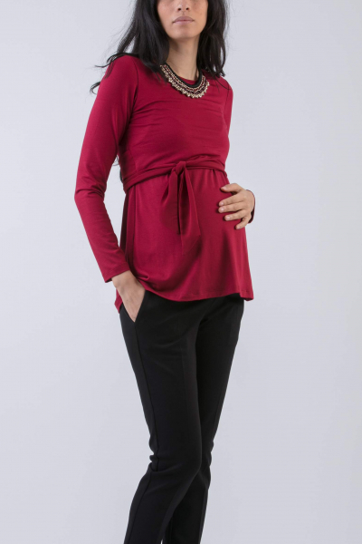Materity & Nursing Top with Front Panel