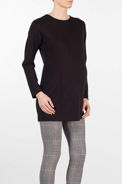 Bodycon Maternity Tunic with Seams