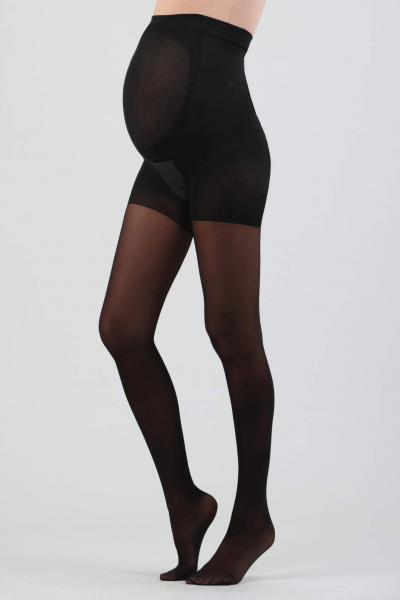 40 Den Push-Up Maternity Tights