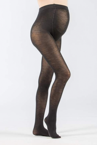 Wool Blend Maternity Tights